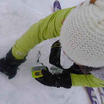 snowshoe avalanche safety course