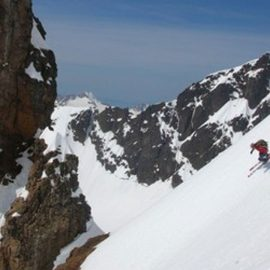 Baker Ski Descent 7,000′ of Glaciated Glisse