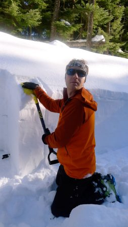Snow Pack Observation Skills