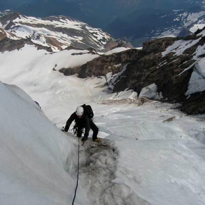 Alpinism 102 – Ice Climbing Course Alpine Style