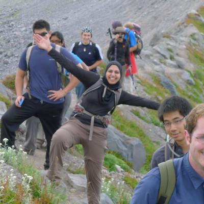 Mt Olympus Family Adventure Blue Glacier Trek