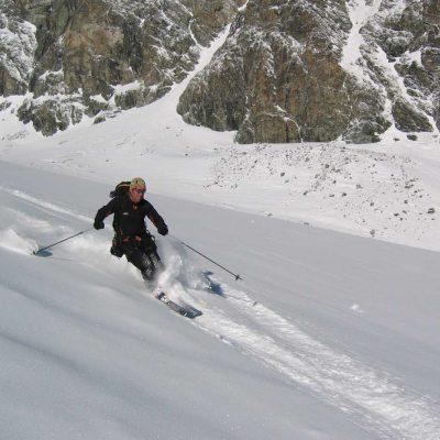 Intro to Ski-Alpinism-Climbing & Riding in glaciated terrain