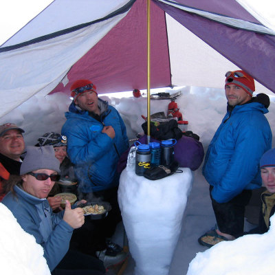 Intro to Backcountry Cooking & Winter Camping -Alpinism 100