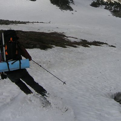 Sahale Descent-Riding the Chief of Cascade Pass