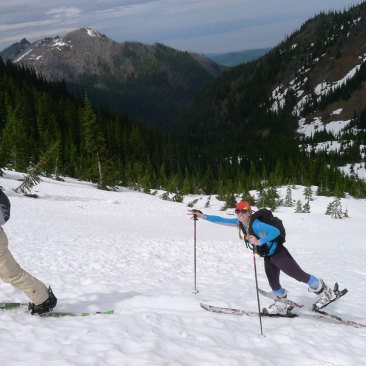 Ski to Sea-Steep Riding and Touring the Olympic Mountains