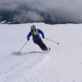 Mt Adams Ski Descent